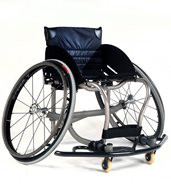 Allcourt Designed with the help of Sunrise Medical's elite wheelchair basketball athletes, the Quickie All Court® wheelchair establishes a new standard in performance and style. Using our patented center-of-mass adjustment feature, the All Court adjusts to match each user's unique center-of gravity and seat-angle requirements -- all without swapping a single part. This, along with a new series of options, makes the Quickie All Court the perfect chair for both the recreational and the elite athlete