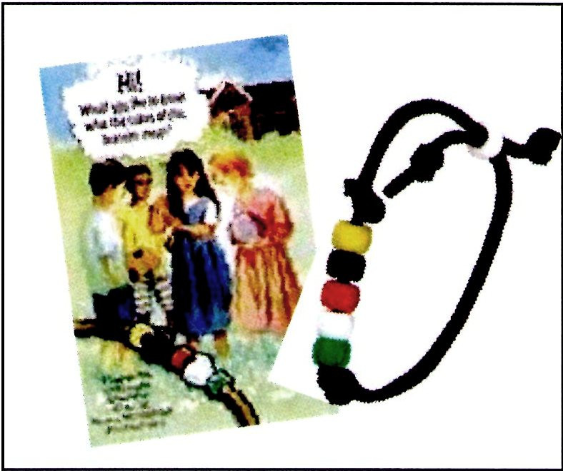 Wordless Book Bracelet Kit And Tract Child Evangelism