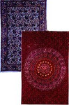 India Bedspreads/Tapestries - Twin Size