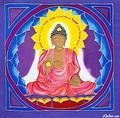BUDDHA BATIK WALLHANGING