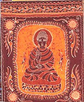 Buddha Batik Wall-Hanging