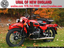 2013 Ural Gear-Up Red-Black Custom 2WD