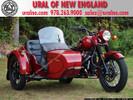 """2012 Ural Retro """"Classic"""" Maroon Custom"""