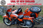 2012 Ural Patrol 2WD Orange with P01 Package