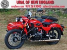 2012 Ural Gear-Up Red-Black Custom 2WD with Retro Lighting