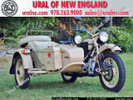 2009 Ural Sahara 2WD Limited Edition (One of 50 bikes made)