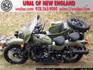 "2012 Ural Gear-Up in ""Taiga"" Green with ""Adventure"" Package and Extras"