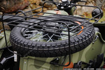 Spare Tire Luggage Rack Assembly