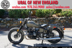 2013 Ural Retro Solo M70 Military Green Custom