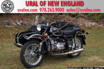 2013 Ural Patrol Glossy Black with pinstripes