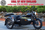 2013 Ural Retro M70 Flat Black Custom
