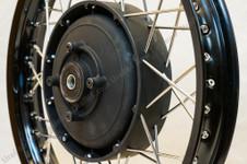 Rear & Sidecar Wheel Assembly.