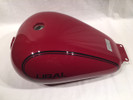 Retro Fuel Tank, Maroon (2013 and Older)