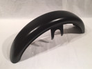 Retro Front Fender, Flat Black (2014 and Newer)
