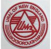 "4"" Round Ural of New England Patches"