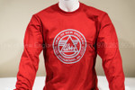 Red UralNE Logo Long Sleeve