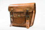 Brown Leather Saddlebag
