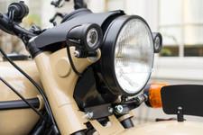 Led Lights Mount on Each Side of Headlight