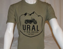 Ural NE Mountain Top Logo Shirt