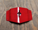 Used Red Spare Wheel Holder