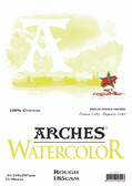 Arches Watercolour Pad - 185gsm - A4 Rough - CLEARANCE SALE!!! While stocks last