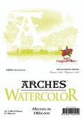 Arches Watercolour Pad - 185gsm - A5 Medium - CLEARANCE SALE! While stocks last