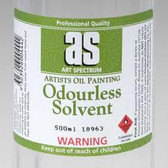 Art Spectrum Odourless Solvent 100ml -CLEARANCE SALE!! While stocks last.  In Store Pick up Only