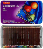 Derwent Coloursoft  Tin of 36