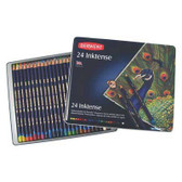 Derwent Inktense Pencils - Tin 24 - CLEARANCE SALE!!! No exchange or refund on clearance items