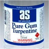 Art Spectrum - Pure Gum Turpentine 100ML - CLEARANCE SALE!! While stocks last (Regular post only)