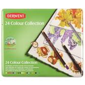 Derwent Colour Collection Tin Set 24