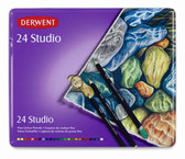 Derwent Studio Pencil Tin Set 24