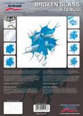 Harder & Steenbeck  - Stencil Broken Glass