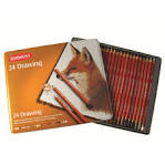 Derwent Drawing Pencils - Tin 24