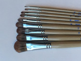 Neef 460 Indian Imitation Sable Brushes Filbert From $5.50 - CLEARANCE SALE!! While stocks last