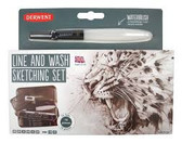 Derwent Line & Wash Sketching Set