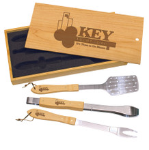 3-piece BBQ Tool Set