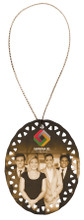 """Full Color Ceramic Sublimation Ornament (3"""" Oval)"""