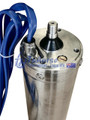 "4""1000w Screw  pump motor with 3m cable"