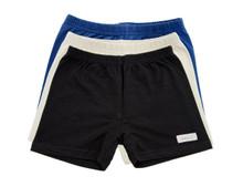 UndieShorts, School Collection - Save 15%: Navy Blue, Khaki, Black