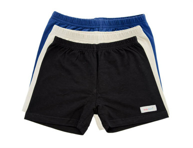 UndieShorts, School Collection - Save 15%: Navy Blue, Khaki, Black