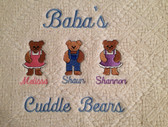 Grandma Woven Blanket - Cuddle Bears Design