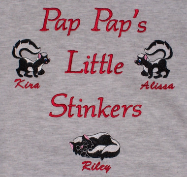 Grandpa Sweatshirt - Little Stinkers Design