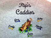 Grandpa Sweatshirt - Pap's Caddies Design