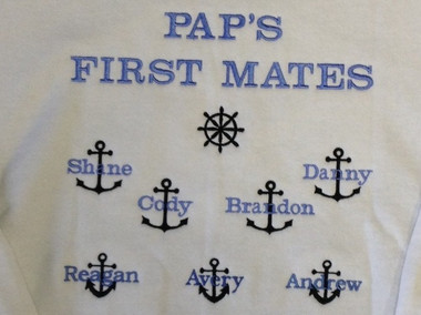 Grandpa Sweatshirt - First Mates Design