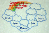 Grandma Woven Blanket - Bridge to Heaven