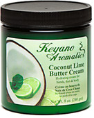 Keyano Manicure & Pedicure, Coconut Lime Butter Cream 8 oz.