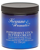 Keyano Manicure & Pedicure, Peppermint Stick Butter Cream 8 oz.