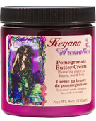 Keyano Manicure & Pedicure, Pomegranate Butter Cream 8 oz.