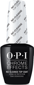 OPI Chrome Powder, #CPT30 - Chrome Effects No-Cleanse Gel Top Coat 0.5oz